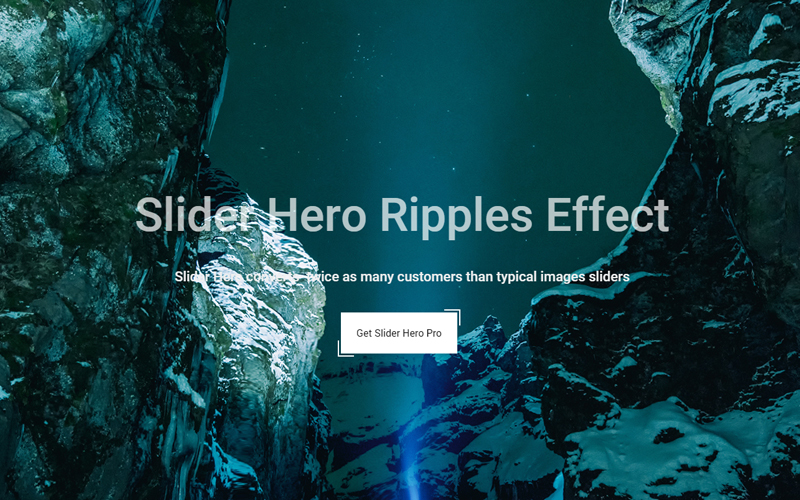 Slider Hero - the Unique WordPress Slider Plugin and Product Intro